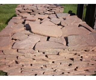 Огалтованый камень (песчаник)