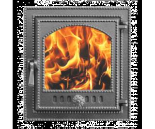 Дверка каминная ВЕЗУВИЙ 210